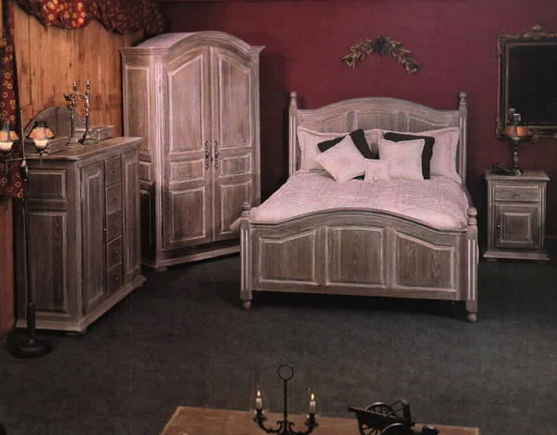 meubles bois massif chene chambre a coucher lit chevet commode armoire patriotes laval montreal. Black Bedroom Furniture Sets. Home Design Ideas