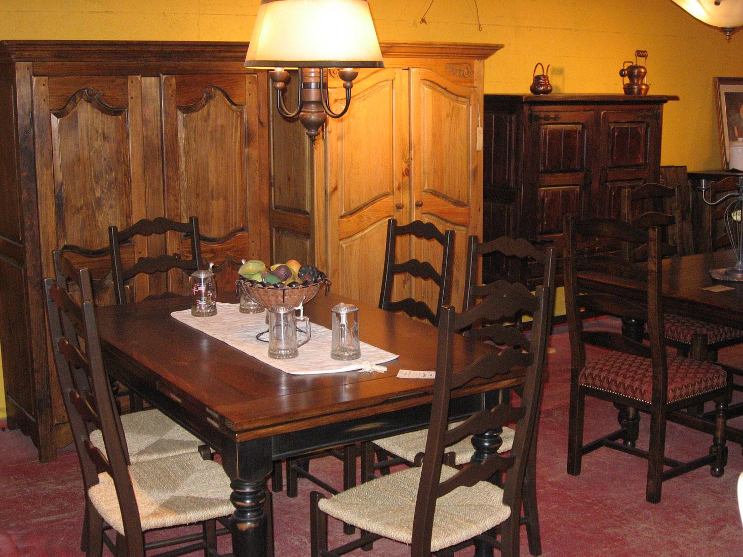 Cuisines et salle de bains meubles des patriotes - Salle a manger pin massif ...