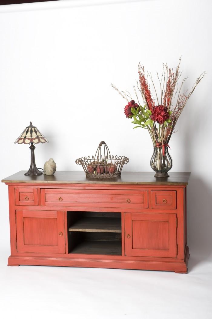 Meuble tele shaker zen pin massif artisan ebeniste patriotes laval montreal jpg meubles des - Meuble shaker ...