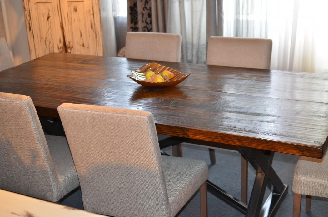 Meubles De Salle  Manger  Table De Bois Massif Faites SurMesure