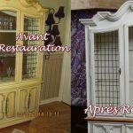 Restauration de meubles Avant / Après