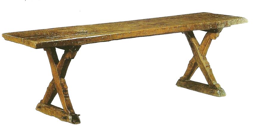 Meubles de salle manger table de bois massif faites for Table a manger sur mesure