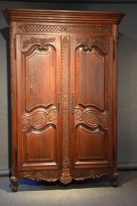 Armoire Marie-Christine inspiration Louis XV